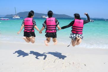 楽しかった修学旅行!インスタ映えする海外の海!