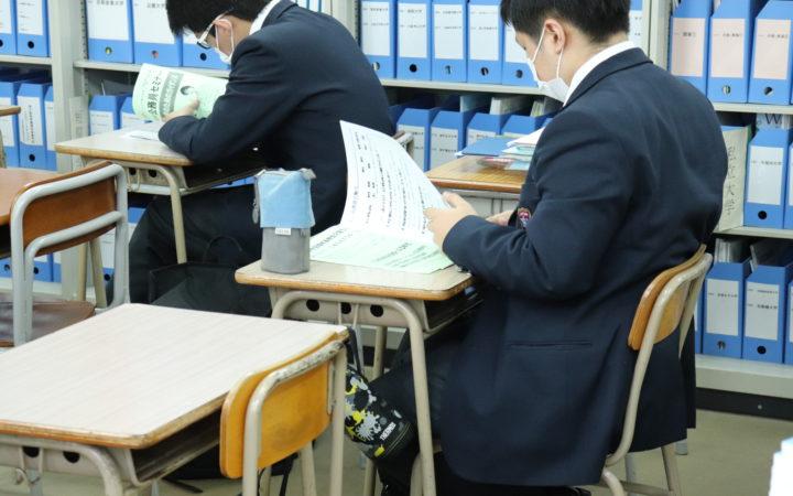 公務員試験対策講座が始まりました