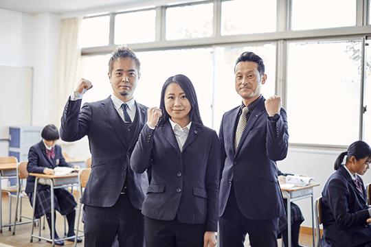 <POINT01>現役合格をかなえるカリキュラムと教員体制